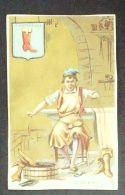 CHROMO-MAISON VANNIER POITIERS-LE SAVETIER-A LA BOTTE ROUGE-1898 - Autres