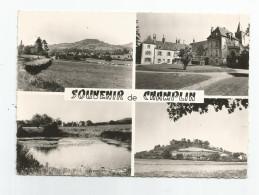 58 Nièvre - Souvenir De Champlin Cachet Pointillé 1965 , Ed Photo Collin De Tannay - Autres Communes