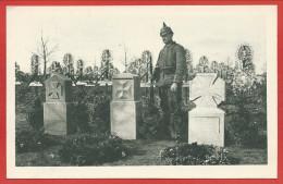 68 - COLMAR - Carte Allemande - Soldats Allemands - Friedhof - Cimetière - Tombes Soldats Allemands - Guerre 14/18 - Colmar