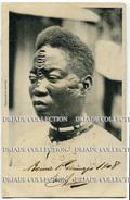 CARTOLINA ETAT INDEPENDANT DU CONGO SCARIFICAZIONE VIAGGIATA AFRICA SCARIFICATION - Congo Belga - Altri