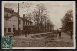 NANTERRE 92 - La Gare - Carte Photo - Nanterre