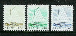 Aland Åland 1984 Ships.  Mi  1-3, MNH(**) - Ålandinseln