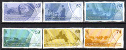 Guernsey 2012 150th Anniversary Of Royal Channel Is. Yacht Club Set Of 6, MNH - Guernesey