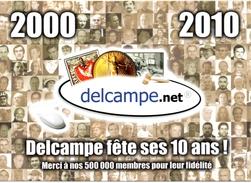 CP - 10ème Anniversaire De DELCAMPE - Evénements