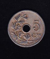 BELGIQUE  MORIN  CAT. N° 280 1907 SUP+  (B025) - 03. 5 Centimes