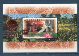 Australia 1997 --Fauna E Fiori  PHILANIPPON '01  (BF25C UNIF.) -- **MNH - Nuovi