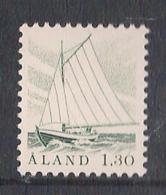 Aland Åland 1986  Fishing Boat, 1.30, Mi 14, MNH(**) - Ålandinseln