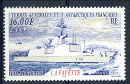 TAAF 2001 N. 289 F. 16 MNH Catalogo € 7,50 - Terre Australi E Antartiche Francesi (TAAF)