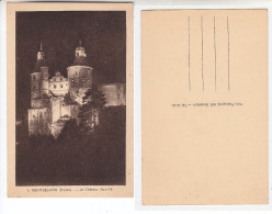 - 25 - MONTBELIARD - Le Chateau Illumine - Montbéliard