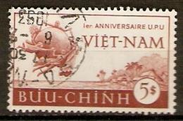 VIET NAM    -   1952.   Y&T N° 19 Oblitéré.   U. P. U. - Vietnam