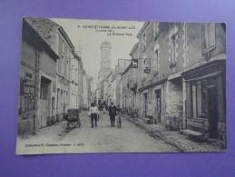 CPA  44 SAINT ETIENNE DE MONT LUC LA GRANDE RUE - Saint Etienne De Montluc