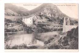 CPA 01 AIN Thoirette Le Pont Sur La Rivière D'Ain Achat Immédiat - France