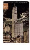 USA NY New York Woolworth Building At Night - New York City