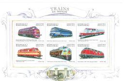[D*] Madagascar - Trains, Railroads, Transportation, 1999 - Sc 1426 - Trains