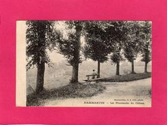77 SEINE ET MARNE, DAMMARTIN, Les Promenades Du Château, Animée, 1918, ((G. L., I. P. M.) - Francia