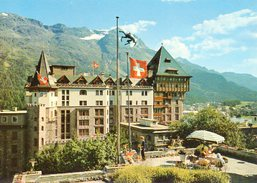 Palace-Hotel St. Moritz Mit Piz Rosatsch - GR Grisons