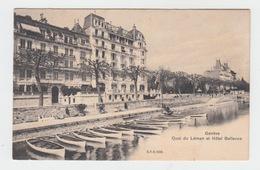 GENEVE / QUAI DU LEMAN ET HOTEL BELLEVUE - GE Ginevra