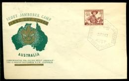 Australia 1952 Special Cover Scout Jamboree Camp No Address - 1937-52 George VI