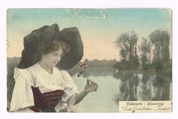 Elsässerin - Alsacienne - Allemagne - Deutschland - 1913 - Timbre/Stamp - Costumes