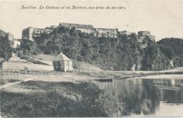 BOUILLON / LA CHATEAU VUE PRISE DE DERRRIERE - Bouillon