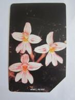 Urmet Phonecard,SRL-16 Orchids,used - Sierra Leone