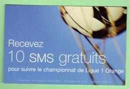 ORANGE *** 10 SMS Gratuits *** (A102-P20) - Kaarten Voor De Telefooncel (herlaadbaar)