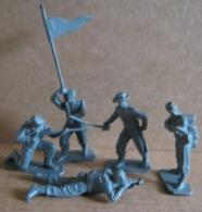 5  SOLDATINI PLASTICA SUDISTI -NO MARCA (130215) - Figurini & Soldatini