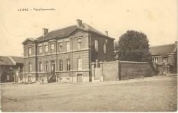 LUTTRE : Place Communale - RARE VARIANTE - Edit Brigode Bonivert Luttre - Cachet De La Poste 1930 - Pont-à-Celles