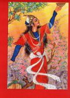 IRAN - Miniyator IRAN - Danseuse Illustration - Iran