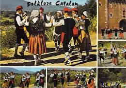 FOLKLORE ( Vues Diversifiées : Costumes Danse Musique ) CATALAN : Petit Lot De 8 CPSM CPM GF - Catalogne Roussillon - Folclore