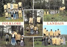 FOLKLORE France ( Vues Diversifiées : Costumes Danse Musique ... ) LANDES : Petit Lot De 18 CPSM CPM GF - - Folclore