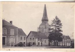 27  Saint Pierre De Bailleul.Place De L'église. édit Marcel.écrite Tb état.années 30. - France