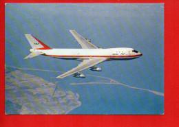 """Avion - Boeing 747 - Quadriréacteur De 374 Places - Publicité Au Dos De """"Vagantyl"""" - 1946-....: Ere Moderne"""