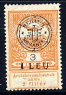 TRANSYLVANIA 1919 Overprint Type I On Flood Relief 3f  LHM / *.  Michel 3 I - Transylvanie