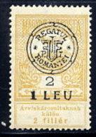 TRANSYLVANIA 1919 Overprint Type I On Flood Relief 2f  LHM / *.  Michel 2 I - Transylvanie