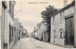 78 CONFLANS - CHENNEVIERES - Grande Rue - Conflans Saint Honorine