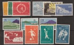 Ned Antillen 1957 Year - Complete - MNH/**/Postfrisch - Antillen