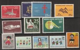 Ned Antillen 1963 Year - Complete - MNH/**/Postfrisch - Antillen