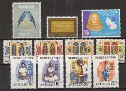 Ned Antillen 1966 Year - Complete - MNH/**/Postfrisch - Antillen