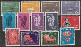 Ned Antillen 1967 Year - Complete - MNH/**/Postfrisch - Antillen