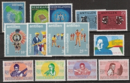 Ned Antillen 1969 Year - Complete - MNH/**/Postfrisch - Antillen