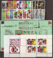 Ned Antillen 1977 Year - Complete - MNH/**/Postfrisch - Antillen