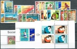 Ned Antillen 1981 Year - Complete - MNH/**/Postfrisch - Antillen