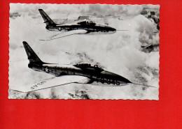 Avion - Chasseur Bombardier - Republic - Thunderstreak F 84 F (écrite, Oblitérée) - Avions