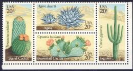 #USA 1981. Cactus. Bloc Of 4. Michel 1517-20. MNH(**) - Etats-Unis