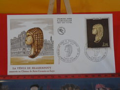 FDC > 1970-1979 > Venus De Brassempouy - 40 Brassempouy & 78 St Germain En Laye - 6.3.1976 - 1er Jour. Coté 5 € - 1970-1979