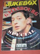 JUKEBOX MAGAZINE / COTE DES DISQUES VINYLES / SPECIAL 40 ANS DE GAINSBOURG 1958 A 1998 - Musique
