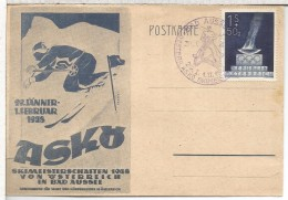AUSTRIA 1948 BAD AUSSEE CAMPEONATOS DE ESQUI SKI DEPORTE INVIERNO - Skisport