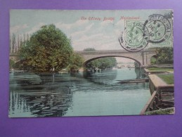 CPA ANGLETERRE MAIDENHEAD PONT BRIDGE - Inghilterra