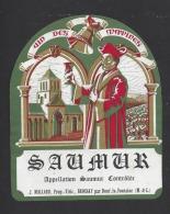 Etiquette De Vin Saumur -  Uin Des Matines  -  J. Mallard à Brossay  (49)  -  Thème Religion - Religiones